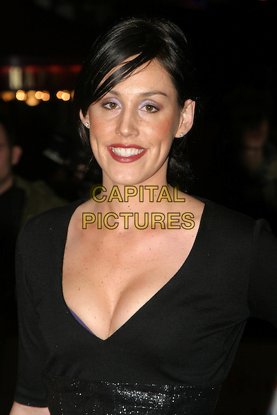 LUCY RUSEDSKI.The Fighting Temptations UK charity premiere.cleavage.www.capitalpictures.com.sales@capitalpictures.com.© Capital Pictures.