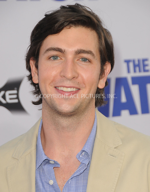 WWW.ACEPIXS.COM....July 23 2012, LA....Nicholas Braun arriving at the premiere of 'The Watch' at Grauman's Chinese Theatre on July 23, 2012 in Hollywood, California......By Line: Peter West/ACE Pictures......ACE Pictures, Inc...tel: 646 769 0430..Email: info@acepixs.com..www.acepixs.com