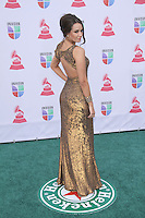 Odalys Garcia Arrives at XIII Latin Grammy Awards at Mandalay Bay Resort & Casino in Las Vegas, Nevada on November 15, 2012.Copyright Felix Gonzalez / iPhotoLive.com /NortePhoto