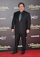 LOS ANGELES, CA. April 4, 2016. Director Jon Favreau at the world premiere of &quot;The Jungle Book&quot; at the El Capitan Theatre, Hollywood.<br /> Picture: Paul Smith / Featureflash