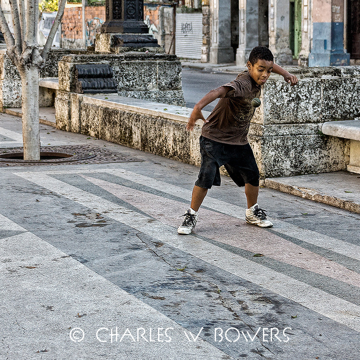 Faces Of Cuba - Playing ball off the other wall.<br /> <br /> -Limited Edition of 50 prints.