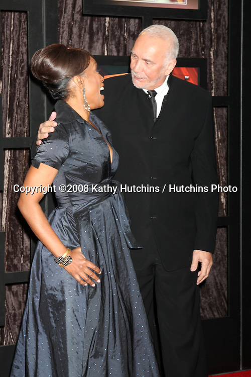 Angela Bassett & Frank Langella  arriving at the  Critic's Choice Awards at the Santa Monica Civic Center, in Santa Monica , CA on .January 8, 2009.©2008 Kathy Hutchins / Hutchins Photo..                .