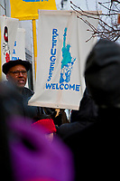 Racine, Wisconsin February 7th, 2018. Endorsing groups included Voces de la Frontera and Youth Empowered in the Struggle.