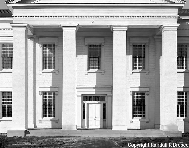 &quot;Front of the State Capitol Building&quot;  Vandalia, Illinois<br />