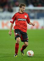 FUSSBALL   1. BUNDESLIGA  SAISON 2012/2013   5. Spieltag FC Augsburg - Bayer 04 Leverkusen           26.09.2012 Daniel Schwaab (Bayer 04 Leverkusen)
