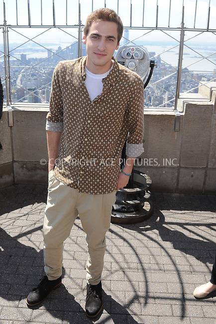 WWW.ACEPIXS.COM . . . . . .April 17, 2013...New York City....James Maslow of Big Time Rush at the Empire State Building Observatory on April 17, 2013 in New York City ....Please byline: KRISTIN CALLAHAN - ACEPIXS.COM.. . . . . . ..Ace Pictures, Inc: ..tel: (212) 243 8787 or (646) 769 0430..e-mail: info@acepixs.com..web: http://www.acepixs.com .