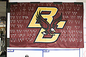 BC's road wins. - The Boston College Eagles were based in the Tampa Bay Lightning dressing room for the tournament after earning the number 1 seed. The Boston College Eagles defeated the Ferris State University Bulldogs 4-1 (EN) in the 2012 Frozen Four final to win the national championship on Saturday, April 7, 2012, at the Tampa Bay Times Forum in Tampa, Florida.