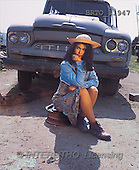 Alfredo, CHILDREN, photos, girl, car(BRTO11947,#K#) Kinder, niños
