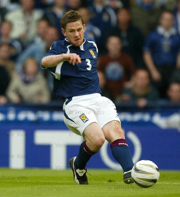 Gary Naysmith, Scotland.Stock season 2003-2004.pic willie vass