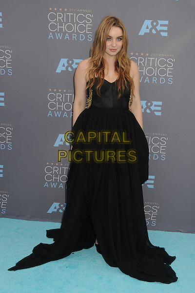 17 January 2016 - Santa Monica, California - Alexa Losey. 21st Annual Critics' Choice Awards - Arrivals held at Barker Hangar. <br /> CAP/ADM/BP<br /> &copy;BP/ADM/Capital Pictures