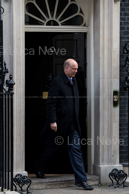 Chris Grayling MP (Lord Chancellor and Secretary of State for Justice).<br />