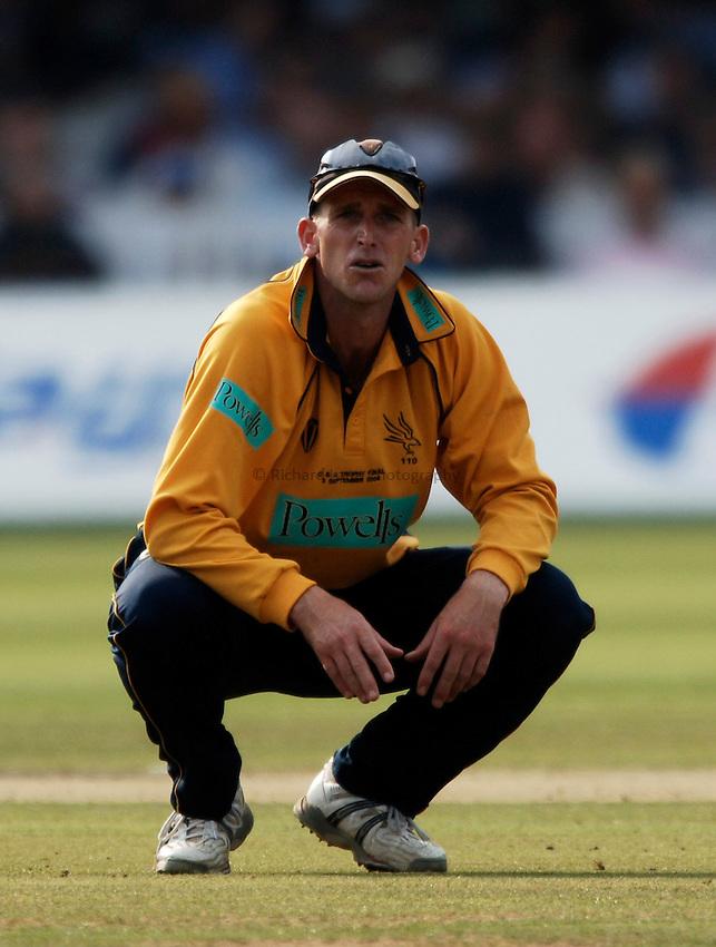 Photo: Glyn Thomas..Hampshire v Warwickshire. C&G Trophy Final..03/09/2005..Hampshire's John Crawley.