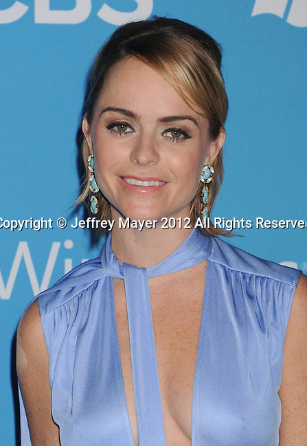 WEST HOLLYWOOD, CA - SEPTEMBER 18: Taryn Manning arrives at the CBS 2012 fall premiere party at Greystone Manor Supperclub on September 18, 2012 in West Hollywood, California.