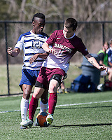 The College of Charleston Cougars played the  Georgia Southern Eagles in The Manchester Cup on April 5, 2014.  The Cougars won 2-0.  Evan Rees (12), Ike Crook (11)