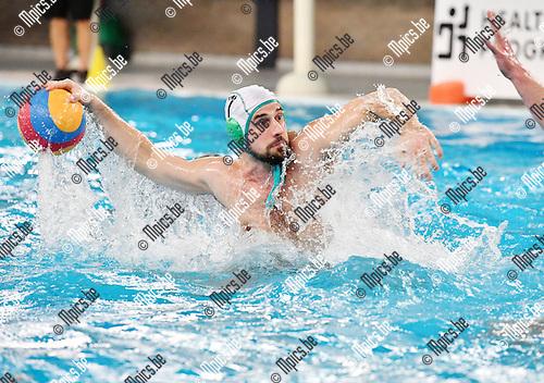 2017-02-11 / Waterpolo / Seizoen 2016-2017 / Mechelen - Antwerpen / Filip Lugovic (Mechelen)<br /> <br /> ,Foto: Mpics.be
