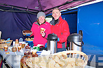 Pictured at the Fair Day in Athea on Saturday were L-R : Coleen Reidy and Matt Tierney of Athea who were providing tea, cake and scones on the day.