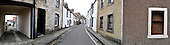Anstruther and Cellardyke - John Street (note that this is a composite image of 4 frames but is a true reflection of the view) - picture by Donald MacLeod - 09.03.13 - 07702 319 738 - clanmacleod@btinternet.com - www.donald-macleod.com