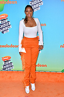 LOS ANGELES, CA. March 23, 2019:  Jennifer Hudson at Nickelodeon's Kids' Choice Awards 2019 at USC's Galen Center.<br /> Picture: Paul Smith/Featureflash