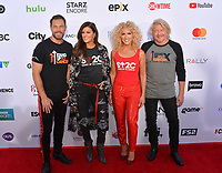 SANTA MONICA, CA. September 07, 2018: Little Big Town - Jimi Westbrook, Karen Fairchild, Kimberly Schlapman & Phillip Sweet - at the 2018 Stand Up To Cancer fundraiser at Barker Hangar, Santa Monica Airport.SANTA MONICA, CA. September 07, 2018: Jimi Westbrook, Karen Fairchild, Kimberly Schlapman & Phillip Sweet at the 2018 Stand Up To Cancer fundraiser at Barker Hangar, Santa Monica Airport.