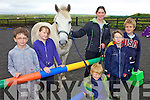 PONYING UP: Some of the kids at the Moonshine Equestrian Centre in Ballybunion saddling up for the pony trekking and summer camps at the centre, l-r: Padraig Moran, Aoife Hennessy, Jack Condon, Kiara Roche, Shane Moran, David Moran.