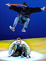 Herges Adventures of Tin Tin directed by Rufus Norris. A Young Vic Theatre Production. With Russell Tovey as Tin Tin. Opens at the Barbican Theatre on 14/12/05. CREDIT Geraint Lewis