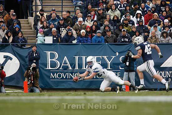 Steve. BYU vs. Air Force college football Saturday, November 21 2009.