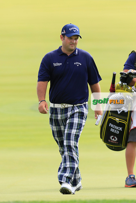 Patrick Reed (USA) walks onto the 4th green during Thursday's Round 1 of the 2016 U.S. Open Championship held at Oakmont Country Club, Oakmont, Pittsburgh, Pennsylvania, United States of America. 16th June 2016.<br /> Picture: Eoin Clarke | Golffile<br /> <br /> <br /> All photos usage must carry mandatory copyright credit (&copy; Golffile | Eoin Clarke)