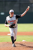 July 14th 2008:  Pitcher Cole McCurry of the Aberdeen Ironbirds, Class-A affiliate of the Baltimore Orioles, during a game at Dwyer Stadium in Batavia, NY.  Photo by:  Mike Janes/Four Seam Images