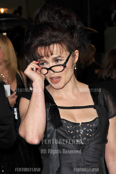 Helena Bonham-Carter at the 63rd Annual Directors Guild of America Awards at the Grand Ballroom at Hollywood & Highland complex, Hollywood...January 29, 2011  Los Angeles, CA.Picture: Paul Smith / Featureflash