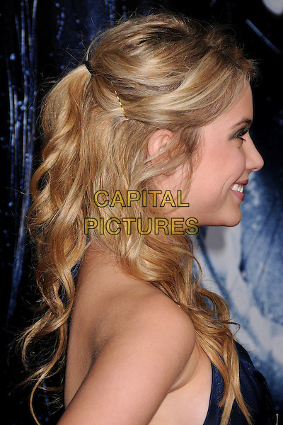 "ASHLEY BENSON.""Prom Night"" Los Angeles Premiere at the Cinerama Dome, Hollywood, California, USA..April 9th, 2008.headshot portrait profile kirby grip .CAP/ADM/BP.©Byron Purvis/AdMedia/Capital Pictures."