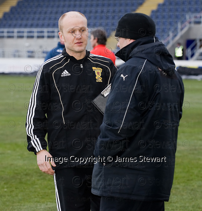 18/12/2010   Copyright  Pic : James Stewart.sct_jsp016_falkirk_late_call_off   .:: REFEREE MAT NORTHCROFT SPEAKS TO PARTICK MANAGER IAN MCCALL BEFORE MAKING A DECISION TO CALL OF THE GAME AT 2.00PM DESPITE THE PITCH PASSING AN EARLIER INSPECTION ::.James Stewart Photography 19 Carronlea Drive, Falkirk. FK2 8DN      Vat Reg No. 607 6932 25.Telephone      : +44 (0)1324 570291 .Mobile              : +44 (0)7721 416997.E-mail  :  jim@jspa.co.uk.If you require further information then contact Jim Stewart on any of the numbers above.........26/10/2010   Copyright  Pic : James Stewart._DSC4812  .::  HAMILTON BOSS BILLY REID ::  .James Stewart Photography 19 Carronlea Drive, Falkirk. FK2 8DN      Vat Reg No. 607 6932 25.Telephone      : +44 (0)1324 570291 .Mobile              : +44 (0)7721 416997.E-mail  :  jim@jspa.co.uk.If you require further information then contact Jim Stewart on any of the numbers above.........26/10/2010   Copyright  Pic : James Stewart._DSC4812  .::  HAMILTON BOSS BILLY REID ::  .James Stewart Photography 19 Carronlea Drive, Falkirk. FK2 8DN      Vat Reg No. 607 6932 25.Telephone      : +44 (0)1324 570291 .Mobile              : +44 (0)7721 416997.E-mail  :  jim@jspa.co.uk.If you require further information then contact Jim Stewart on any of the numbers above.........