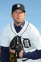 Feb 21, 2009; Lakeland, FL, USA; The Detroit Tigers pitcher Chris Lambert (40) during photoday at Tigertown. Mandatory Credit: Tomasso De Rosa/ Four Seam Images
