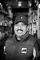 Heliodoro Gonzalez. Hardware store owners in Tijuana, Baja California, Mexico