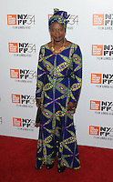 NEW YORK, NY - SEPTEMBER 30:Angelique Kidjo attends the 54th New York Film Festival opening night gala presentation and '13th' world premiere at Alice Tully Hall at Lincoln Center on September 30, 2016 in New York City.  Photo Credit: John Palmer/MediaPunch