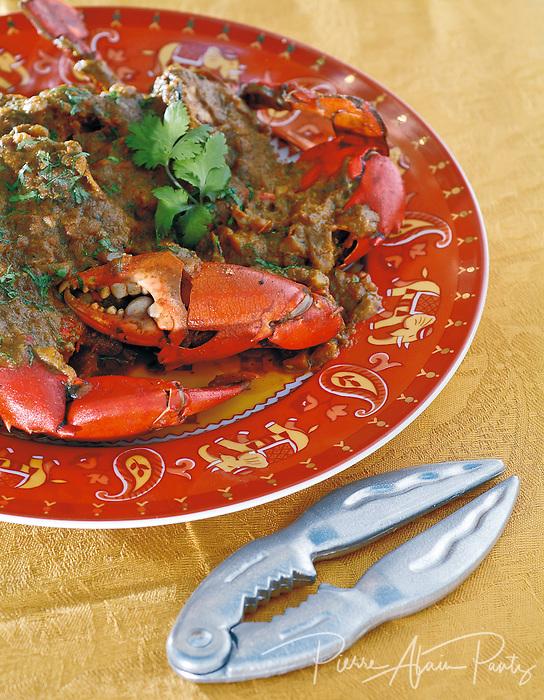 curry de crabe