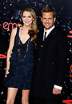 "HOLLYWOOD, CA. - December 17: Actor Gabriel Macht and Actress Jacinda Barrett arrives at the Los Angeles premiere of ""The Spirit"" at the Grauman's Chinese Theater on December 17, 2008 in Hollywood, California."
