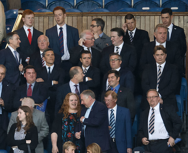 Rangers directors box tonight