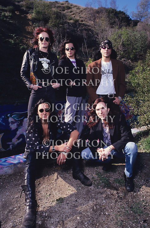Portraits & live photographs of the band, Bang Tango.