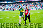 Kerry in action against  Mayo in the All Ireland Semi Final in Croke Park on Sunday.