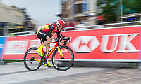 Picture by Allan McKenzie/SWpix.com - 14/07/17 - Cycling - HSBC UK British Cycling National Circuit Series - Velo29 Altura Criterium - Stockton, England - Raleigh GAC', HSBC, branding.