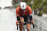 Brandon McNulty (USA) Rally UHC Cycling attacks during Stage 3 of Il Giro di Sicilia running 186km from Caltanissetta to Ragusa, Italy. 5th April 2019.<br /> Picture: LaPresse/Fabio Ferrari | Cyclefile<br /> <br /> <br /> All photos usage must carry mandatory copyright credit (&copy; Cyclefile | LaPresse/Fabio Ferrari)