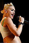 UNIVERSAL CITY, CA. - July 22: Singer Gwen Stefani  of No Doubt performs at the Gibson Amphitheatre on July 22, 2009 in Universal City, California.