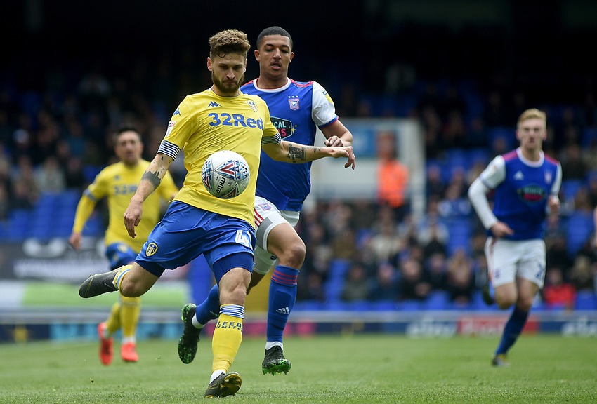 Leeds United's Mateusz Klich<br /> <br /> Photographer Hannah Fountain/CameraSport<br /> <br /> The EFL Sky Bet Championship - Ipswich Town v Leeds United - Sunday 5th May 2019 - Portman Road - Ipswich<br /> <br /> World Copyright © 2019 CameraSport. All rights reserved. 43 Linden Ave. Countesthorpe. Leicester. England. LE8 5PG - Tel: +44 (0) 116 277 4147 - admin@camerasport.com - www.camerasport.com