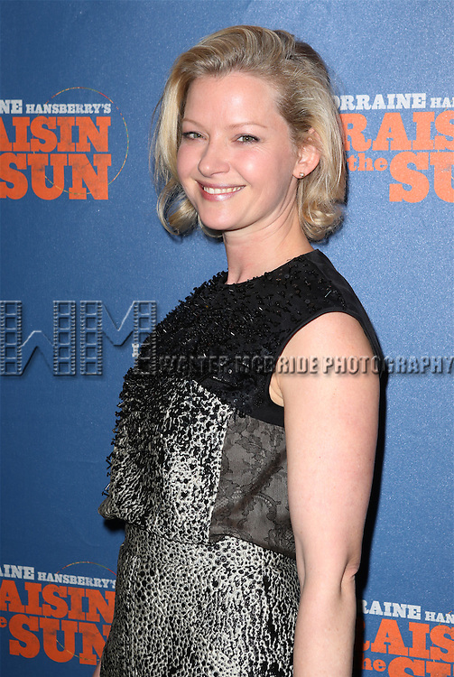 Gretchen Mol attending the Broadway Opening Night Performance of 'A Raisin In The Sun'  at the Barrymore Theatre on April 3, 2014 in New York City.