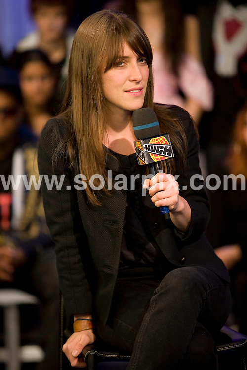 **ALL ROUND PICTURES FROM SOLARPIX.COM**.**SYNDICATION RIGHTS FOR UK, SPAIN, PORTUGAL, AUSTRALIA, S.AFRICA & DUBAI (U.A.E) ONLY**.Feist appear on Much Music's Much On Demand show at The Chum City Building, Toronto, Ontario, Canada. 12th May 2008..JOB REF: 6388 PHZ/Robin Wong    DATE: 12_05_2008.**MUST CREDIT SOLARPIX.COM OR DOUBLE FEE WILL BE CHARGED* *UNDER NO CIRCUMSTANCES IS THIS IMAGE TO BE REPRODUCED FOR ANY ONLINE EDITION WITHOUT PRIOR PERMISSION*