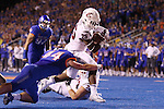 Jamal Morrow (25), Washington State University running back, heads for the endzone during the Cougars non-conference road opener at Boise State on September 10, 2016.