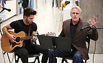 "Mike Squillante and Gary Busey during the ""Only Human - A #Blessed New Musical"" Sneak Peek at The Yard Herald Square on September 17, 2019 in New York City."