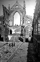 Interior view of ruins of Catholic Cathedral, Charleston.  1865. Selmar Rush Seibert. (War Dept.)<br /> Exact Date Shot Unknown<br /> NARA FILE #: 165-SC-793<br /> WAR &amp; CONFLICT BOOK #:  243