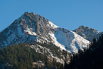 Mountain peak at Mineral King, Sequoia National Park, California