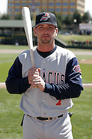 Syracuse Sky Chiefs Ryan Roberts during an International League game at Frontier Field on April 8, 2006 in Rochester, New York.  (Mike Janes/Four Seam Images)